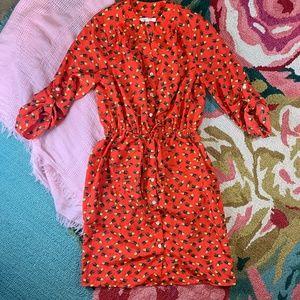 3/$20 Sale Spense Red Pineapple Dress